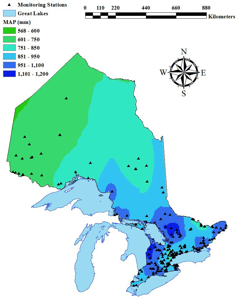 Investigating the Spatial and Temporal Variability of Precipitation